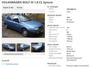 Autó-golf