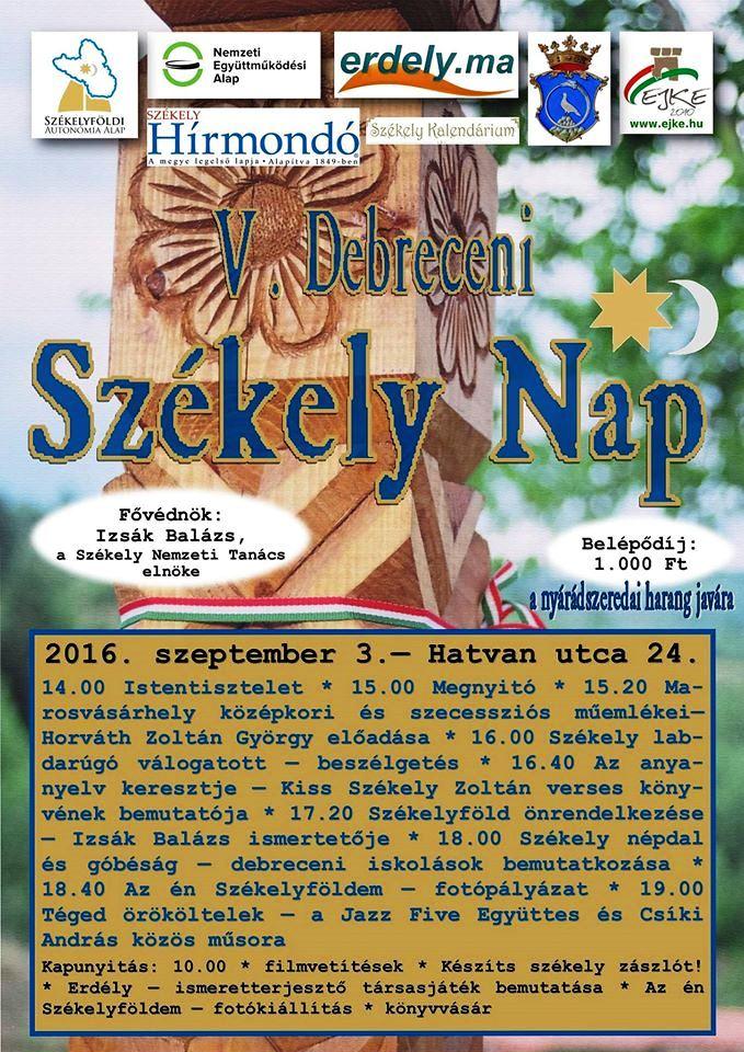 V. Székely Nap – Debrecen